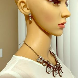 Statement Necklace & Earring sept